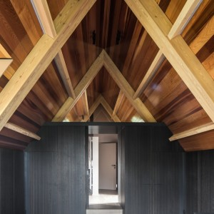 custom made wooden ceiling