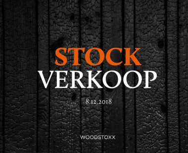 Banner Stockverkoop 8.12.2018 - Woodstoxx