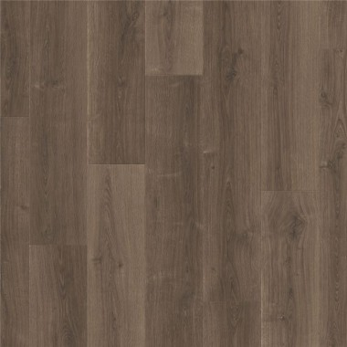 Brushed oak brown topshot