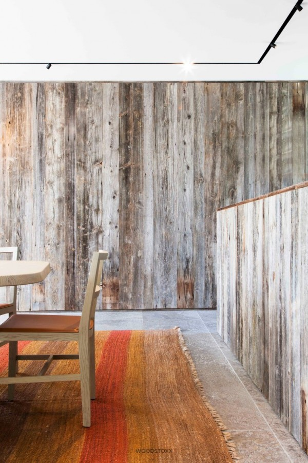 revetement mural barnwood