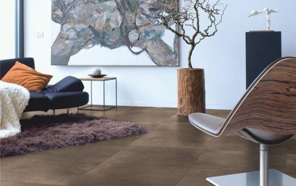 realisation 2 - Arte Polished Concrete Dark